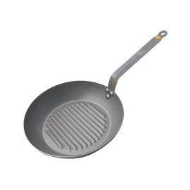 Poêle grill ronde De Buyer 26 cm
