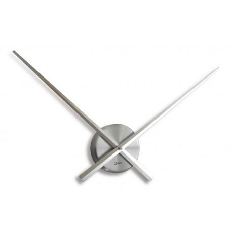 Horloge Aiguilles du temps Alu de 72cm