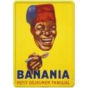 Plaque métal Banania 30 x 40 cm