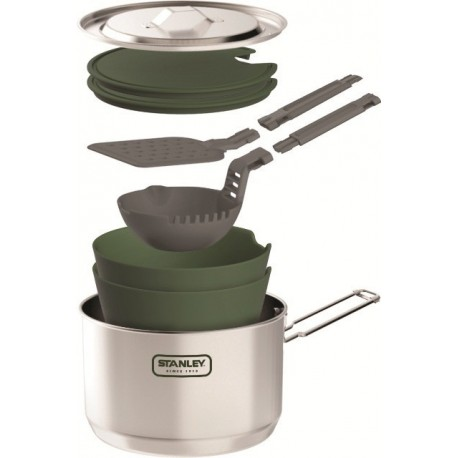 Kit Alimentaire Popote Aventure Prep Cook 1.5L