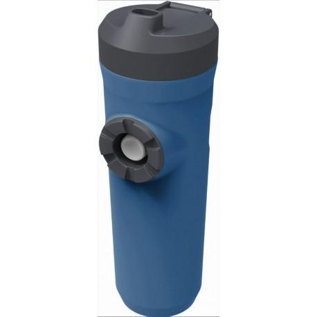 Bouteille Hydratation Montagne 0.6L Bleue