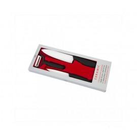Coffret 2 couteaux cuisine Céramiques et éplucheur TB
