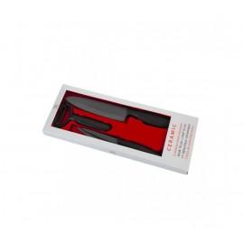 Coffret 2 couteaux cuisine lame noire Céramiques et éplucheur TB