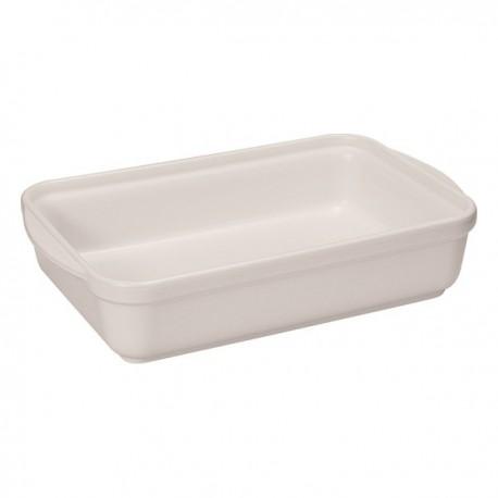 Plat rectangulaire 32 x 23 cm sel