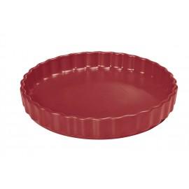 Moule à tarte 28 cm rouge