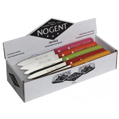 Boîte de 20 couteaux office NOGENT COLOR lame 9 cm