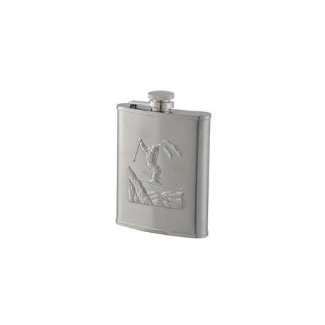 Flasque inox décor skieur Keen Sport 180 ml