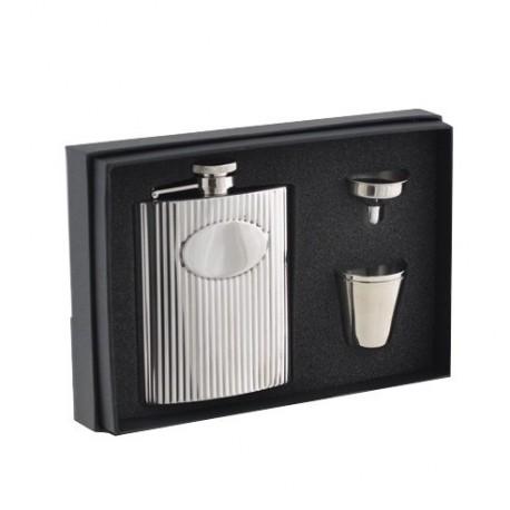 Coffret flasque + 2 gobelets + entonnoir KEEN SPORT 11660