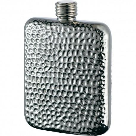 Flasque inox martelé bouchon simple 180 ml 547100