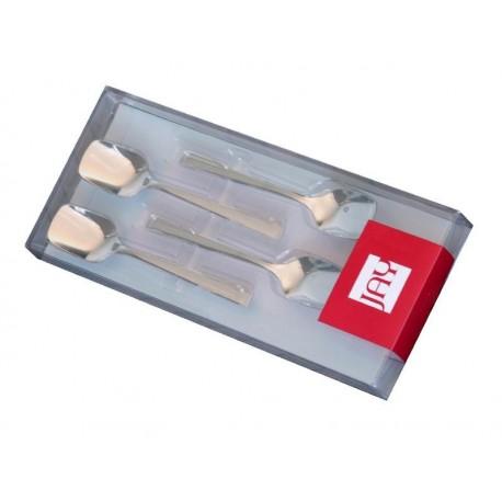 Coffret 4 cuillères à glace modèle Titanio