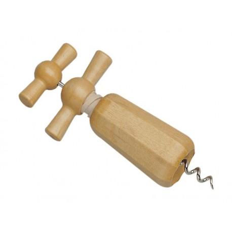 Tire-bouchon à hélice bois