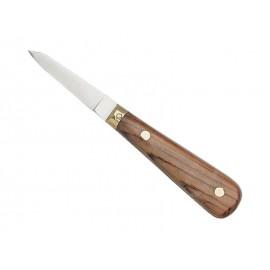 Couteau à huîtres lancette palissandre inox