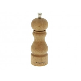 Moulin à poivre De Buyer Rumba 14cm hêtre naturel