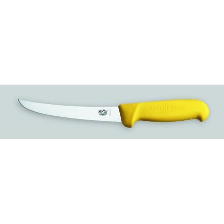 """Couteau à désosser""""VICTORINOX"""",manche en fibrox jaune"""