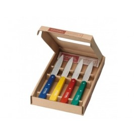 "Coffret 4 couteaux office ""OPINEL"""